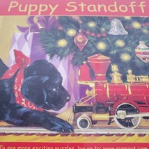 SunsOut Puppy Standoff 1000 Pieces Puzzle NEW - $15.52