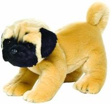 Nat and Jules Standing Large Pug Dog Children's Plush Stuffed Animal Toy... - $31.20