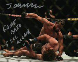 ** Jorge Masvidal Signed Photo 8X10 Rp Autographed Mma Ufc Fighting ! - $19.99