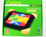 HAPE Colora Game Bamboo Mosaic Colored Tiles Pattern Educational Activity