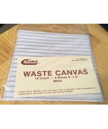 Raymar 14 Count Waste Canvas 6x6, 3 pcs - $3.50