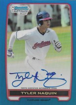 2012 Bowman Draft Chrome Prospect Autograph Blue Refractors #BCA-TN Tyle... - $24.99