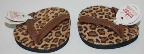 Carrie And Company Leopard Print Sandal 2 Coaster Set Drink Wear Attachable