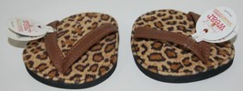 Carrie And Company Leopard Print Sandal 2 Coaster Set Drink Wear Attachable image 1