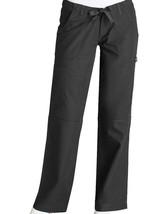 Pewter Scrub Pants S Adar Universal 510 Drawstring Waist Uniform Low Ris... - $19.37
