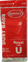 Dirt Devil Type U Vacuum Cleaner Bags 80-2433-04 - $3.56