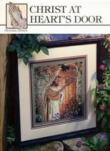 Christ At Heart's Door Praying Hands Cross Stitch Leaflet 24014 NOS - $7.95