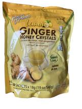 Prince of Peace Lemon Ginger Honey Crystals Instant Tea  30 Sachets, 19 Oz - $8.90