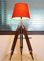 Handmade Premium Teak Wooden Tripod Floor Lamp - Home Decorate - $165.62