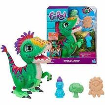 *Fur real munching Rex dinosaur stuffed toy electric robot E0387 genuine - $79.66