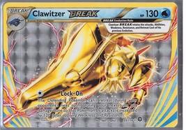 *NEW* 2016 Pokemon Clawitzer Break Holo > 130 HP 35/114 - $1.75