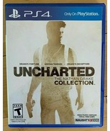 Uncharted: The Nathan Drake Collection - Sony PlayStation 4 PS4 Game Fre... - $14.99