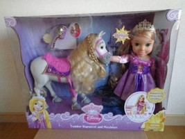 My First Disney Princess - Toddler Rapunzel And Maximus - Dolls Set New A27 - $339.99