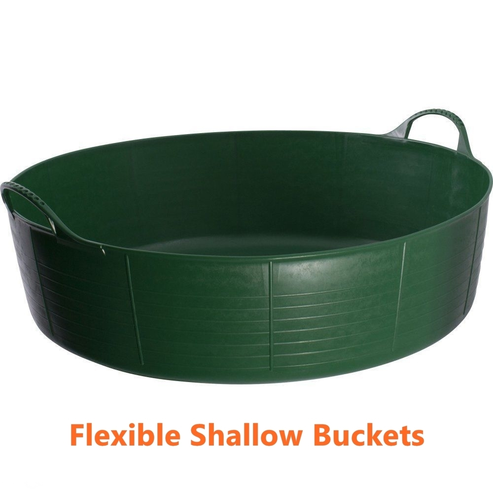 Primary image for Flexible Feed Buckets Garden Kids Small Sand Ball Pit Patio Pet Pool Water Pit