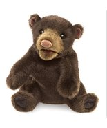 Folkmanis Small Black Bear Hand Puppet - $16.19