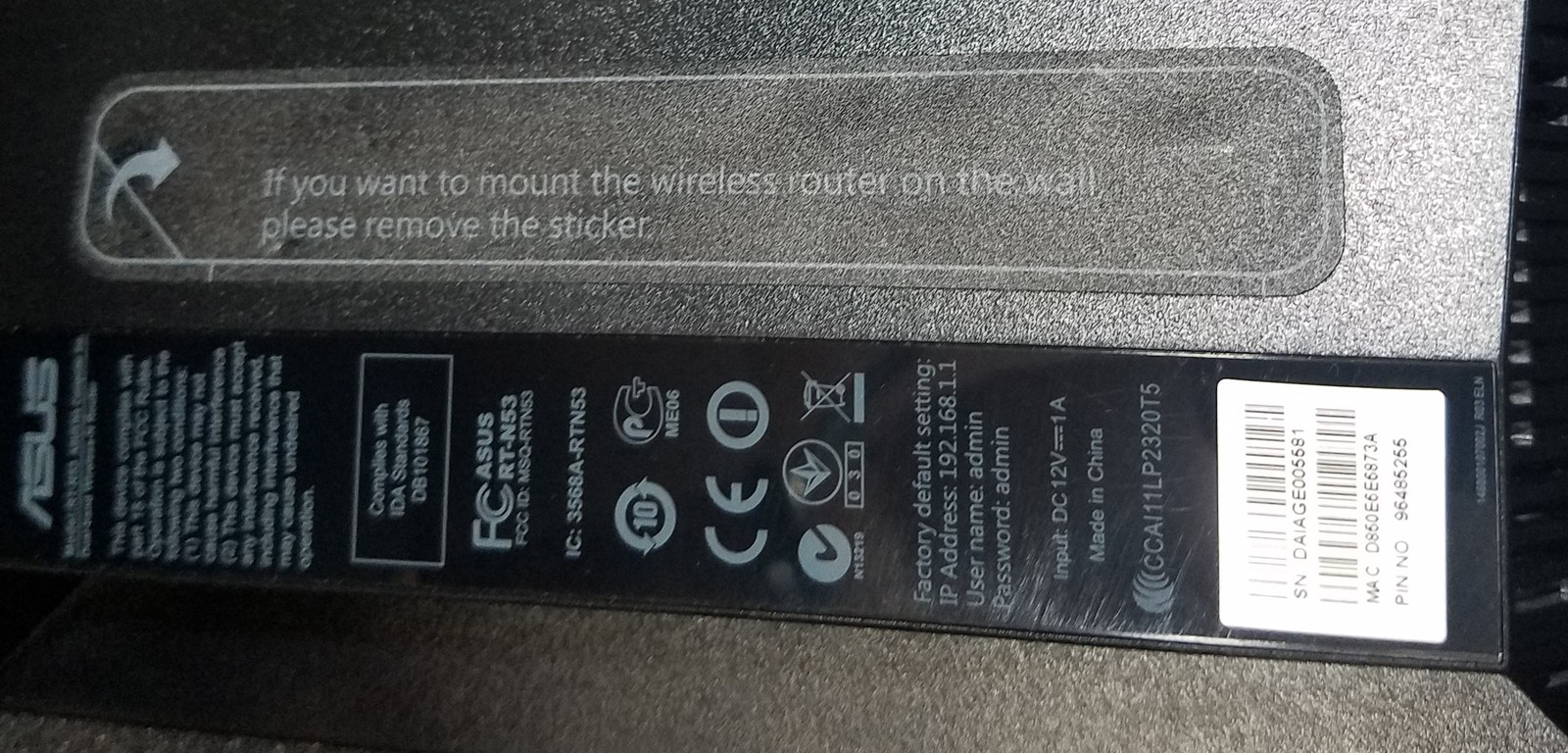 Asus RT-N53 Dual Band Wireless N600 Router and similar items