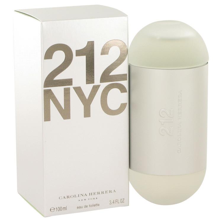 Carolina herrera 212 3.4 oz perfume