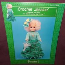 Crochet Jessica Fashion Doll Dress Pattern 1990 Booklet PRE804 Td Creations - $9.99