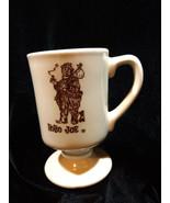 Vintage Hobo Joe Footed Diner Mug Coffee Tea Pedestal Cup Vagabond Resta... - $7.00