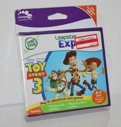 Toy Story 3 Leap Frog (Only for Leapster Explorer) Unopened Package