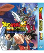 Dragon Ball Super Complete Series 1-131 END + 3 Movie English Dub Ship F... - $56.42