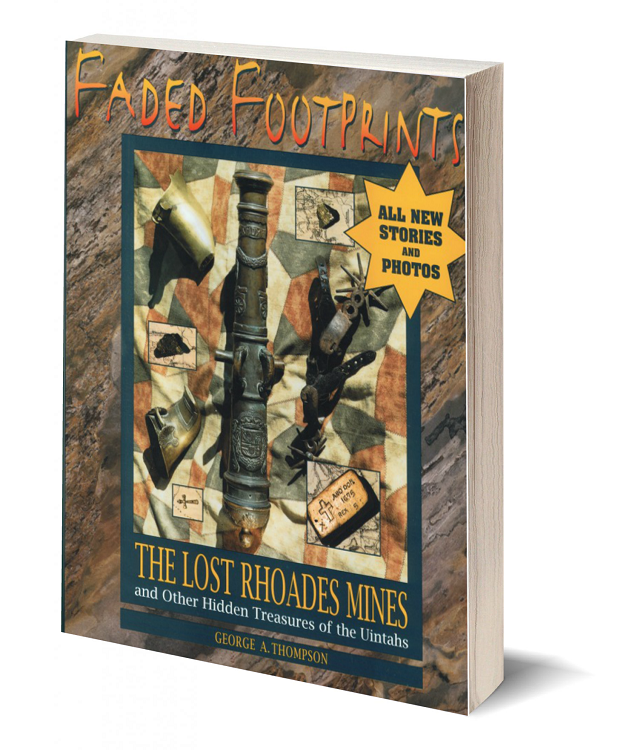 3d book cover faded footprints