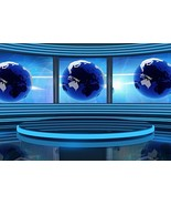 OFILA News Report Backdrop 10x8ft Photography Background TV Broadcast In... - $40.15