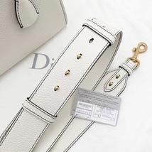 100% Authentic Christian Dior Addict Tote White Calfskin Bag GHW RARE image 6