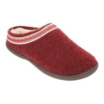 Clarks Women Faux Fur Lined Clog Slippers with Trim Detail - $25.86