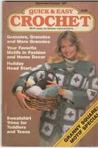 Quick & Easy Crochet Volume II Issue 5 Sep-Oct 1987 crochet patterns - $2.97