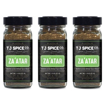 Za'atar (Zatar/Zaatar/Zahtar) Seasoning Blend by TJ Spice Company | 1.8 oz(3 PAC - $19.79