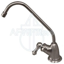 PURETECK Euro Style Non-Airgap Long Reach RO Faucet - Brushed Stainless Steel - $56.60