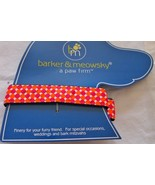 """Dog Collar Large 16"""" - 24""""  By Barker & Meowsky a paw firm Dots design - $5.87"""