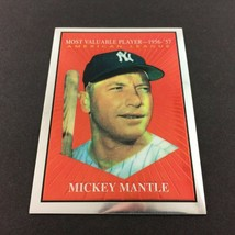 '58 Topps MVP Mickey Mantle Commerative Set #31 1997 Topps Finest Yankees - $4.90