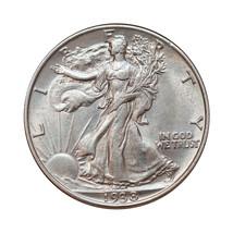 1938 P Walking Liberty Half Dollar - Gem BU / MS / UNC - $59.00