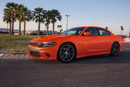 2017 Dodge Charger RT Scat Pack front  24X36 inch poster, sports car, mu... - $18.99