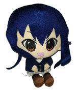Blue Hair Large 10 Inch Plush Anime School Girl - $14.88