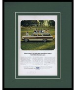 1964 Ford Country Squire Wagon Framed 11x14 ORIGINAL Vintage Advertisement - $41.71