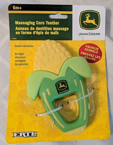 John Deere Massaging Corn Teether For Ages 6 Months And Up