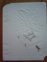 Vintage Bridal Book Wedding Invitation Card  - $3.99