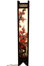 Fine Asianliving Oriental Rice Paper Floor Lamp Blossoms  - $247.16