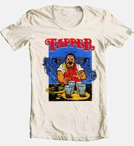 Tapper T-shirt retro arcade video game 80's 100% cotton graphic beige tee image 2