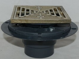 Sioux Chief Shower Pan Drain Cast Metal Ring And Strainer 821-200PNQ image 2