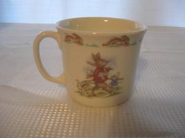 Vintage 1984 Beatrix Potter Peter Rabbit Cup Decorative Bunnykins Royal ... - $24.74