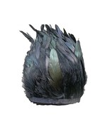 """Rooster Hackle Feather Fringe Trim 5-7"""" in Width Pack of 2-10 Yards 10 Y... - $38.77"""