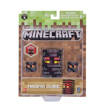 """☆ NEW Minecraft Series 4 3"""" Magma Cube Action Figure Opens & Closes Jazw... - $21.50"""