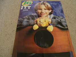 Jonathan Taylor Thomas teen magazine poster clipping Lion King Simba Teen Beat