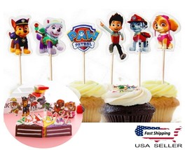 PAW PATROL  Cupcake Pick , kids love this cartoon, hot and cold dishes  ... - $6.48