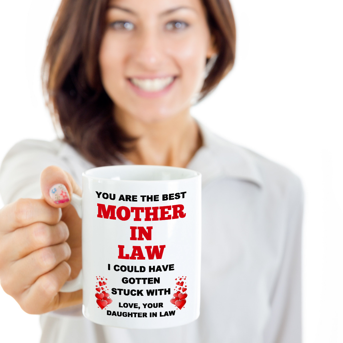Funny Wedding Gift For Mother In Law Mother Of Bride From Daughter In Law Mug