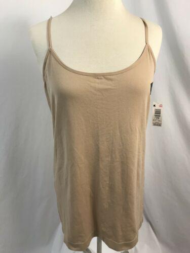 Attention Couleur Chair sans Couture Camisole,Femmes Taille L/XL,Neuf avec